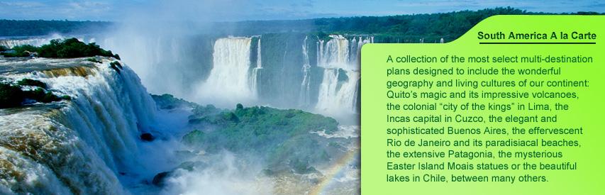 South America a la carte